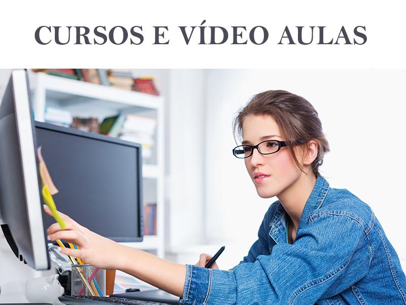 Produção de CURSOS E VÍDEO AULAS
